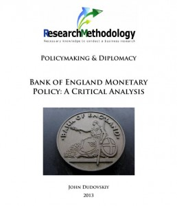 Bank of England Monetary Policy