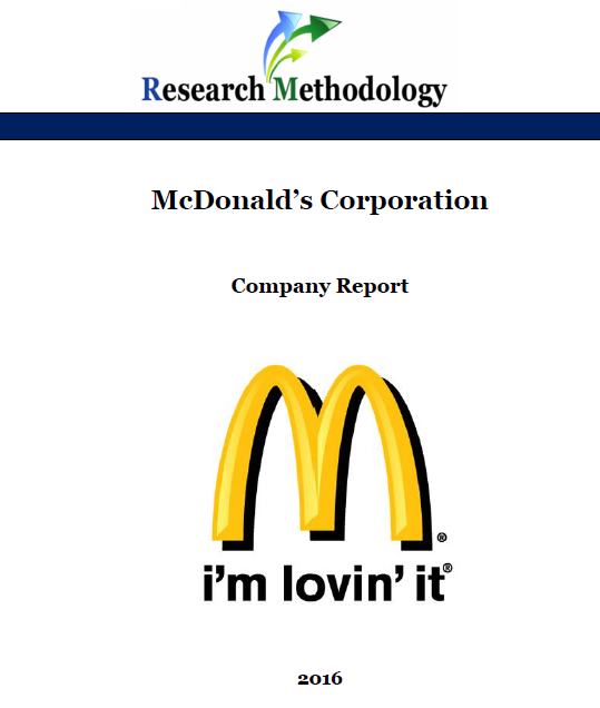 mcdonald s secondary research Pdf | this report is about to demonstrate a marketing plan for mcdonald's items with reference to more seasoned offerings the report demonstrates the arrangement that in what capacity can .