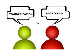 standardisation vs adaptation essay