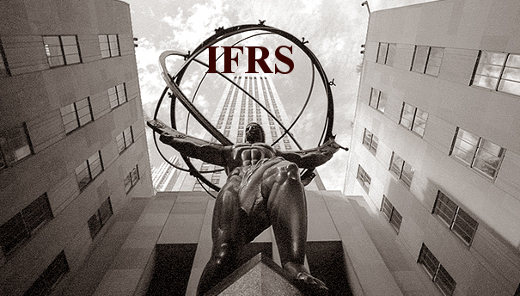 weakness of ifrs International financial reporting standard (ifrs) 9,2 which is  this delay in  recognition of credit losses was identified as a weakness.