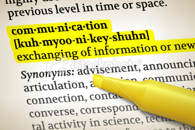 definitions of communication Business people today have many means of communicating with clients, co-workers, customers and company stakeholders cell phones, email and video-conferencing are a few of the ways.