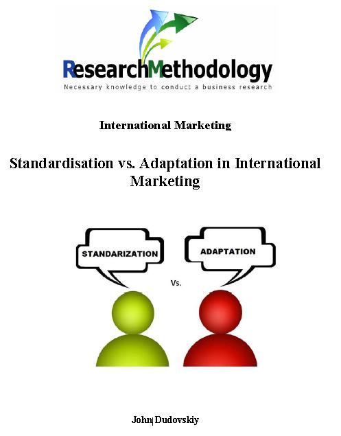 advantages of adaptation in international marketing