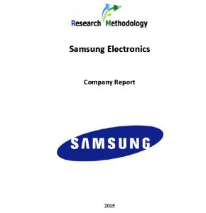 Samsung Electronics Report