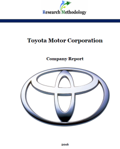 Toyota motor corporation report research methodology for Toyota motor company profile