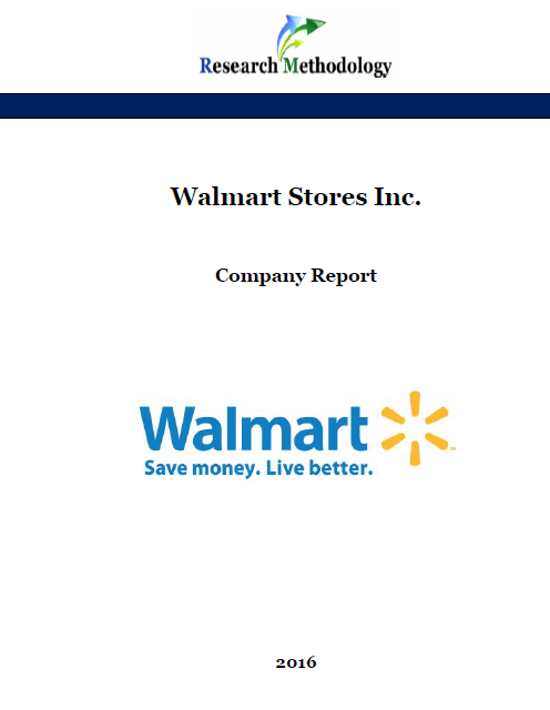 Walmart Stores Inc  Report - Research-Methodology